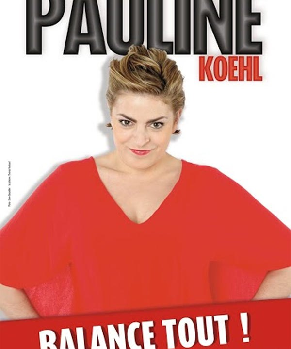 Pauline Koehl balance tout!
